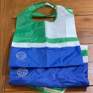 TWO Tory Sport Nylon Tote Bags